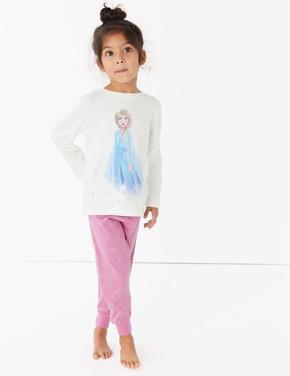 Mor 2'li Disney Frozen™ Pijama Seti