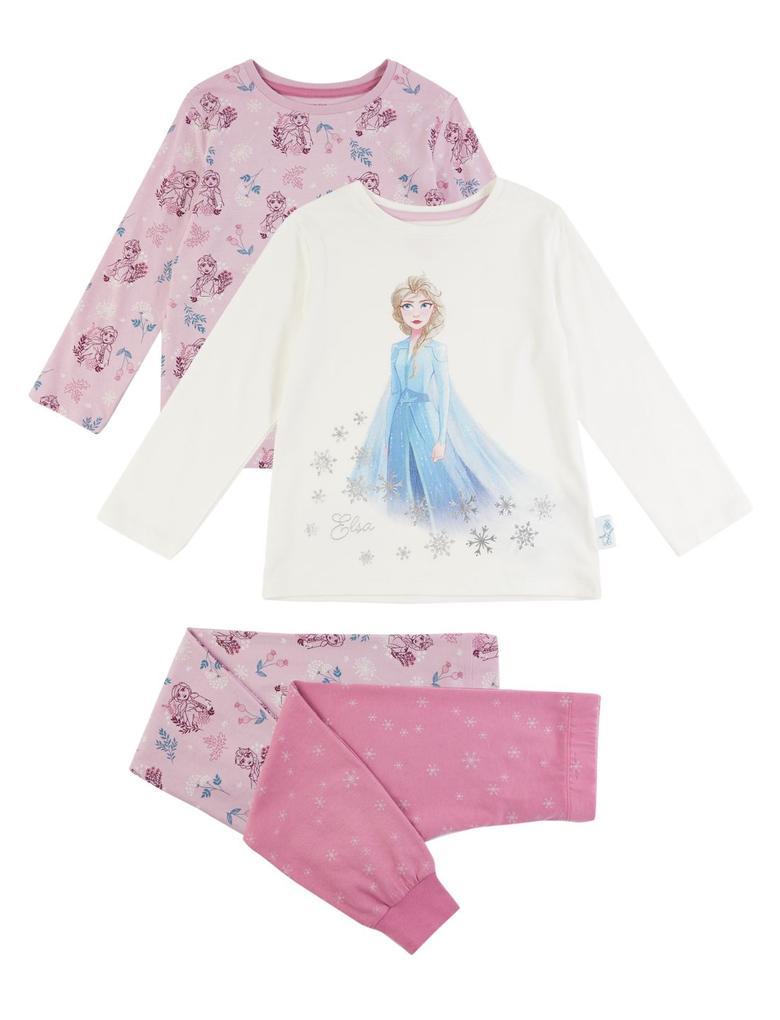 Kız Çocuk Mor 2'li Disney Frozen™ Pijama Seti