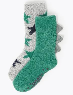 2'li Desenli Çorap Seti