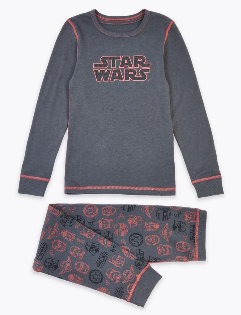 Çocuk Gri Star Wars™ Termal Alt ve Üst Takım