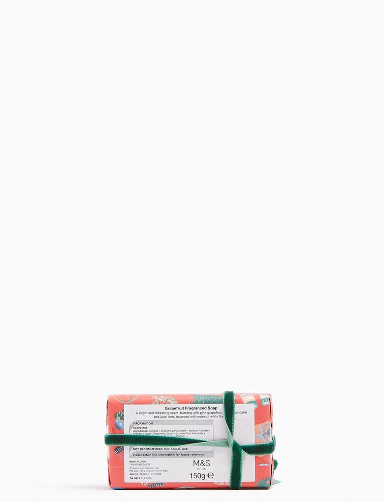 Ev Renksiz Yılbaşı Temalı Hediyelik Sabun