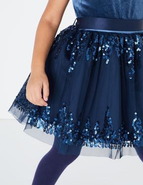 Kadife Pullu Elbise