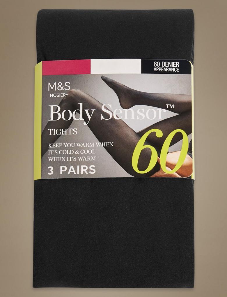 3'lü 40 Denye Body Sensor™ Opak Külotlu Çorap