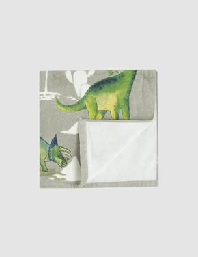 Dinozor Desenli Banyo Havlusu