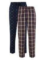 2'li Desenli Pijama Altı Seti