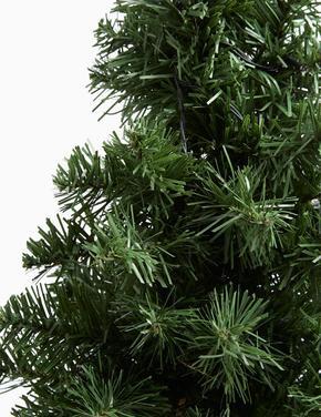 Yeşil 45 cm Işıklı Çam Ağacı