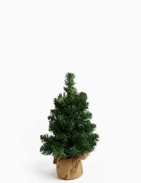 Yeşil Işıklı Yılbaşı Ağacı
