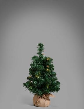 Ev Yeşil Işıklı Yılbaşı Ağacı