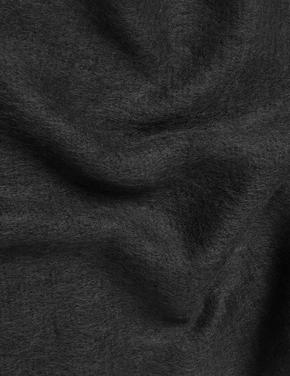 Kadın Siyah Triko Şal