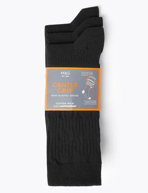 Erkek Siyah 3'lü Çorap Seti