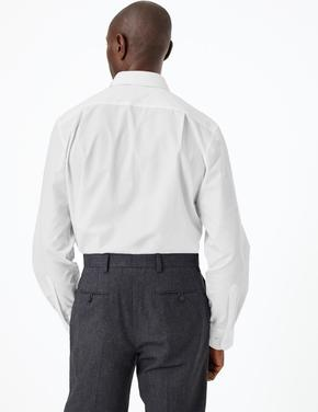 3'lü Regular Fit Kolay Ütülenebilir Gömlek Seti
