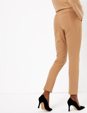 Sarı Yüksek Belli Pantolon