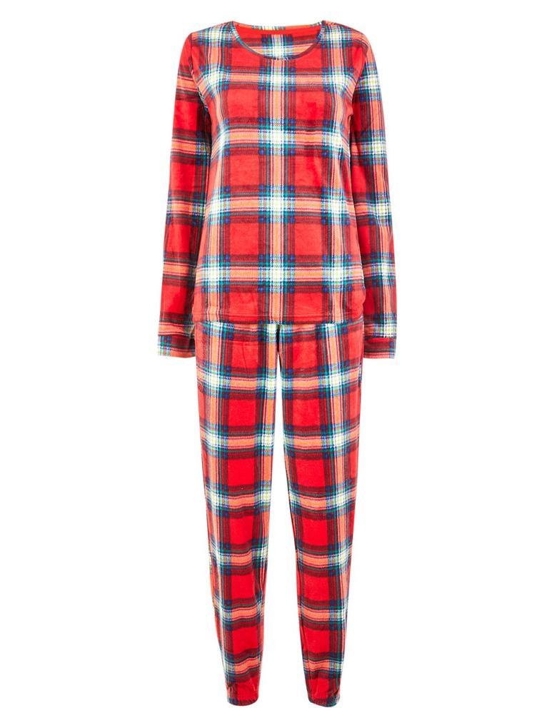 Ekose Polar Pijama Takımı