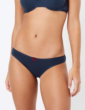 Kadın Lacivert 5'li Bikini Külot Seti