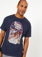 Erkek Lacivert Star Wars™ Desenli T-Shirt