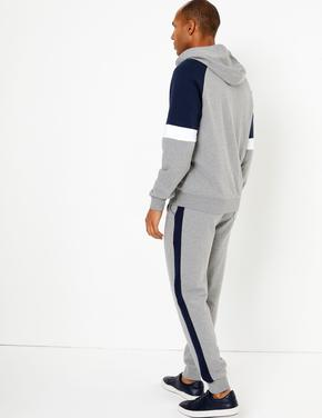Fermuarlı Kapüşonlu Sweatshirt
