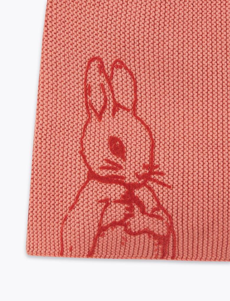 Bebek Pembe Peter Rabbit™ Elbise ve Çorap Seti