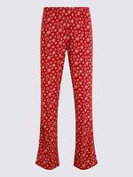 Kar Tanesi Desenli Pijama Takımı