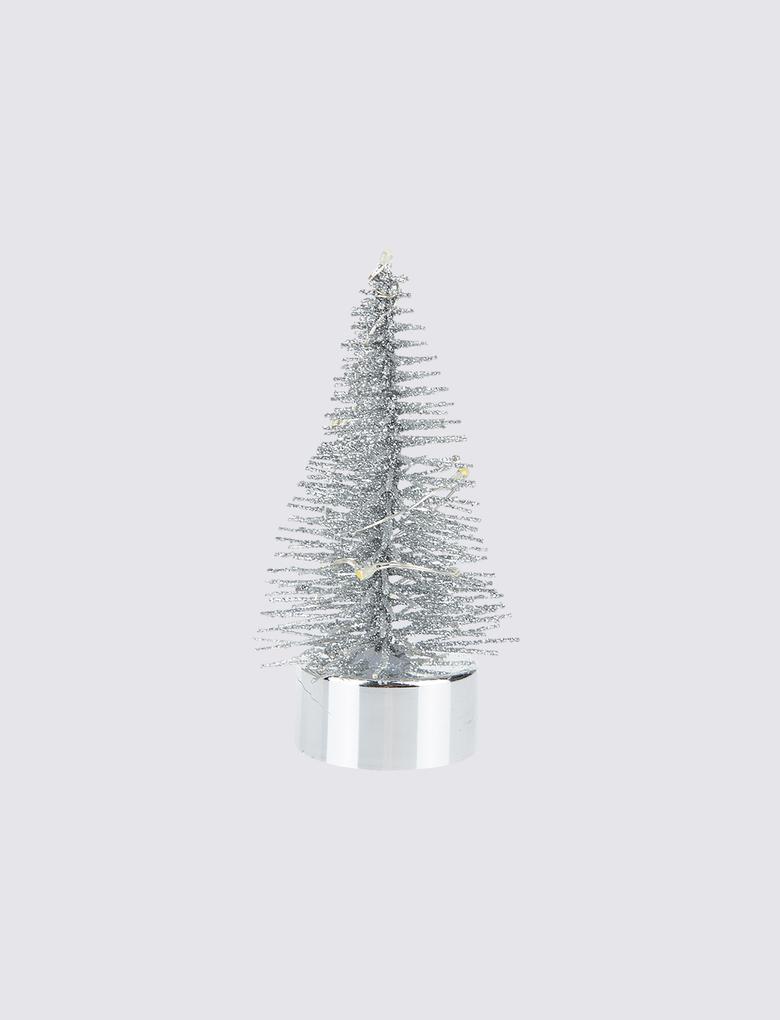 Ev Metalik Çam Ağacı Süsü