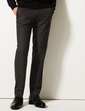 Gri Tailored Fit Pantolon