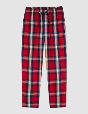 Yılbaşı Temalı Ekose Pijama Takımı
