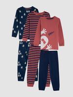 3'lü Pijama Takımı
