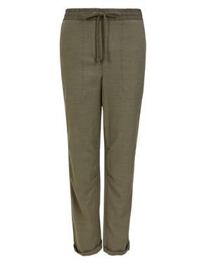 Yeşil Tencel™ Pantolon