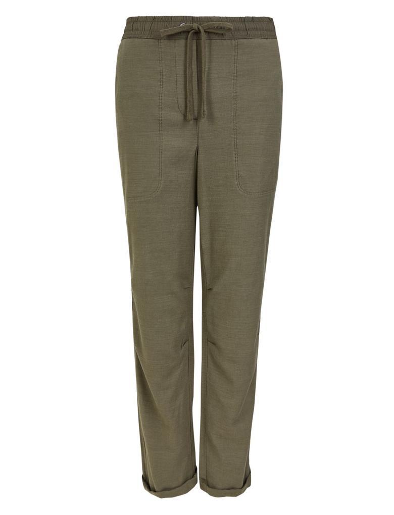 Kadın Yeşil Tencel™ Pantolon