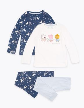 2'li Peppa Pig™ Pijama Seti