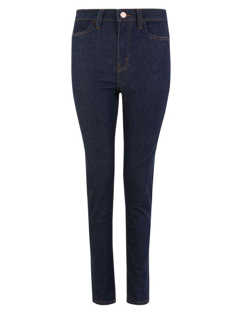 Lacivert Skinny Ankle Grazer Jean Pantolon