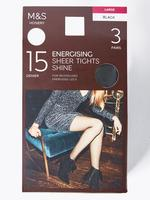 3'lü 15 Denye Külotlu Çorap Seti