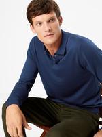 Erkek Lacivert Polo Yaka T-Shirt