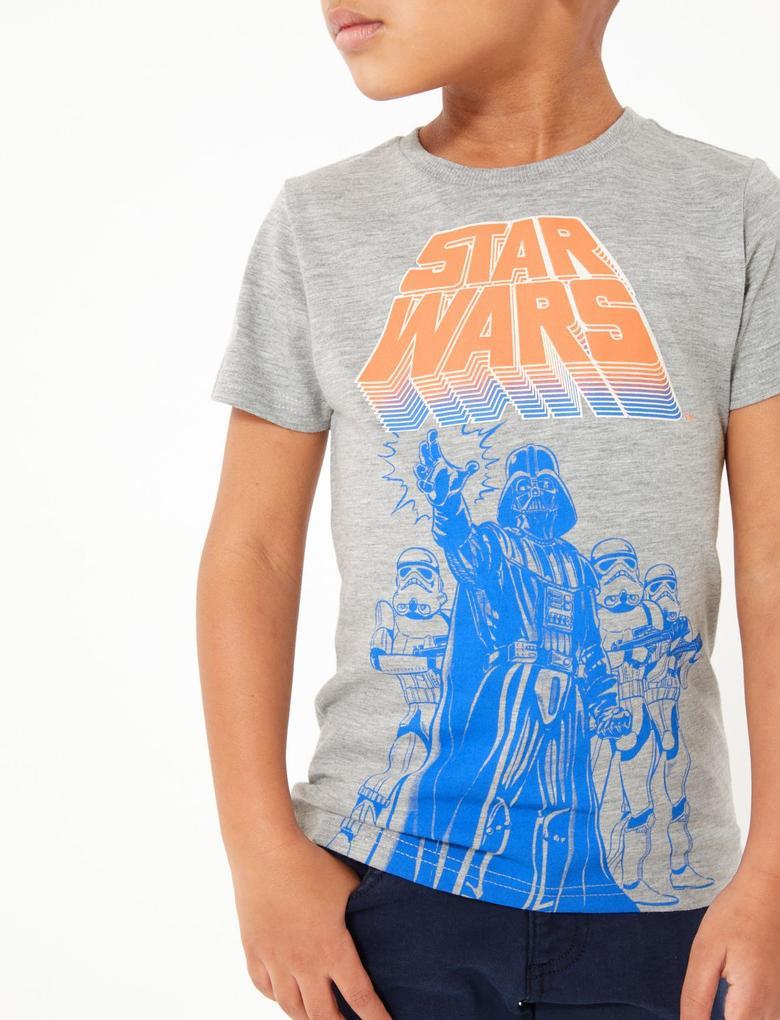 Erkek Çocuk Gri Star Wars™ Uzun Kollu T-Shirt