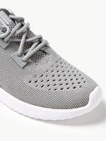 Kadın Gri LIGHT AS AIR™ Bağcıklı File Spor Ayakkabı