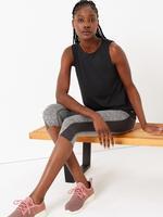 Kadın Siyah Kolsuz Atlet