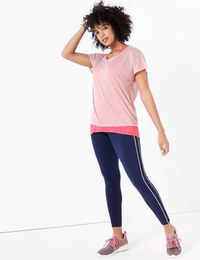 Kadın Pembe 2'li T-Shirt Seti