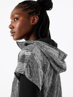 Rüzgara karşı Dayanıklı Desenli Ceket
