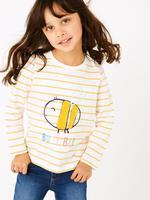 Kız Çocuk Multi Renk 3'lü Uzun Kollu T-Shirt Seti