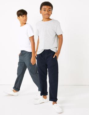 Multi Renk 2'li Pamuklu Pantolon Seti