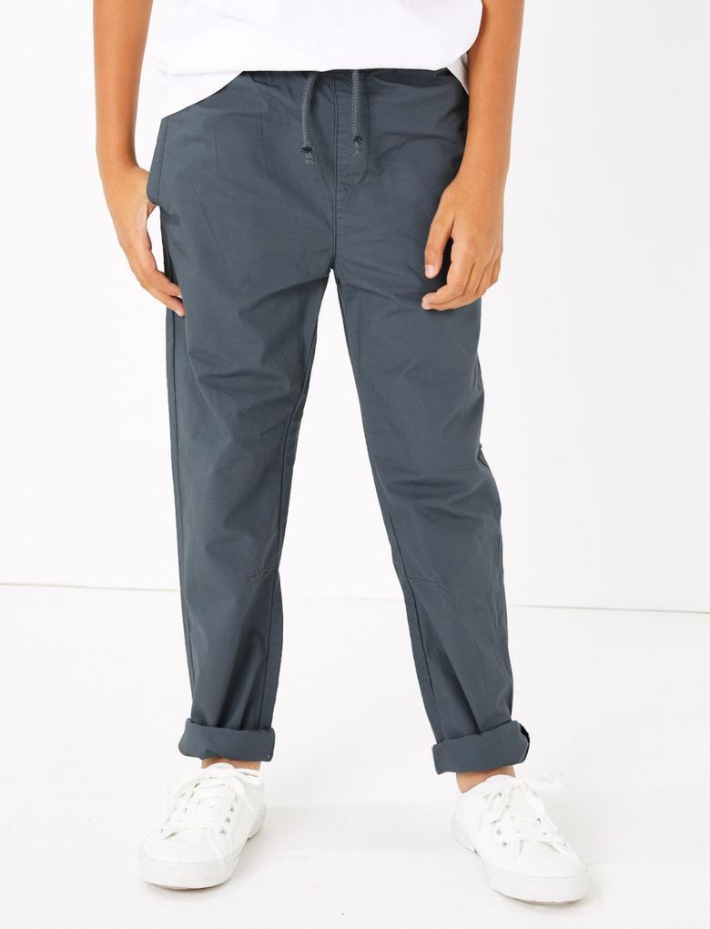 Erkek Çocuk Multi Renk 2'li Pamuklu Pantolon Seti