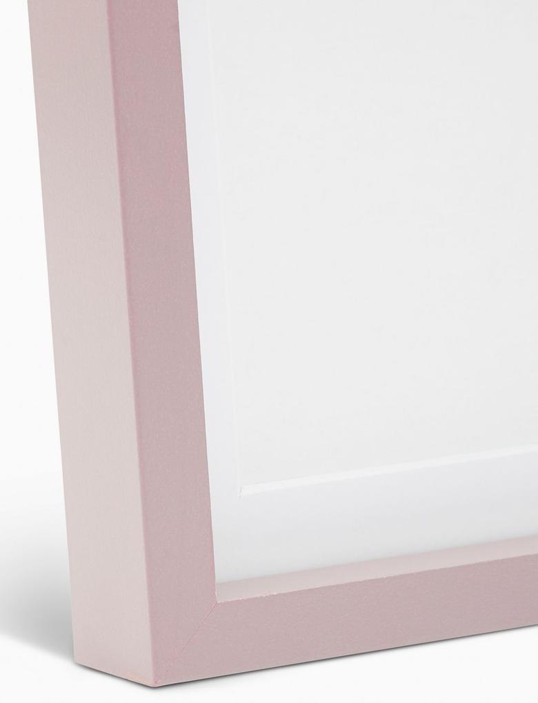 Ev Pembe Fotoğraf Çerçevesi (20 x 25cm)