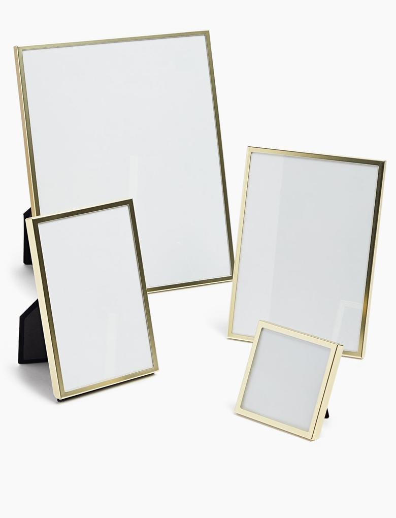 Ev Kahverengi Altın Rengi Fotoğraf Çerçevesi (10 x 15cm)