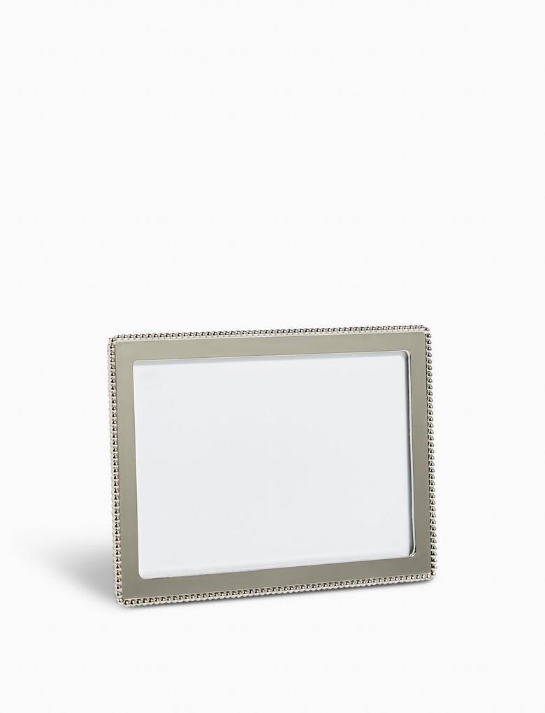 Ev Gümüş Boncuklu Fotoğraf Çerçevesi 10 x 15cm