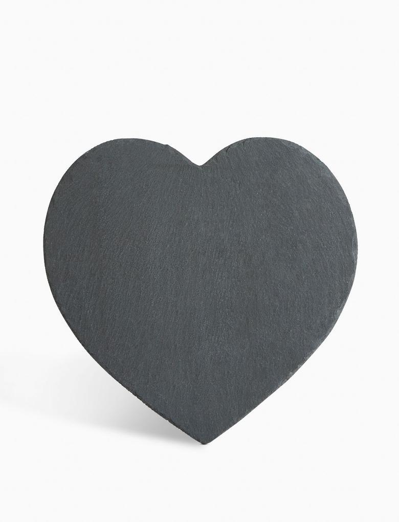 2'li Kalp Şeklinde Amerikan Servisi Seti