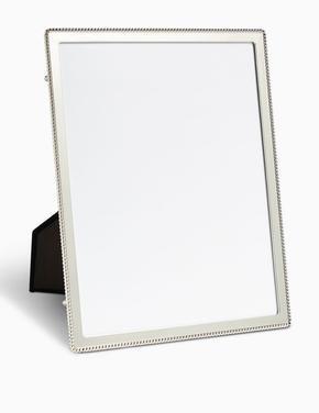 Gümüş Boncuklu Fotoğraf Çerçevesi 20 x 25cm