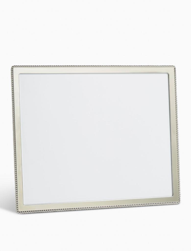 Ev Gümüş Boncuklu Fotoğraf Çerçevesi 20 x 25cm