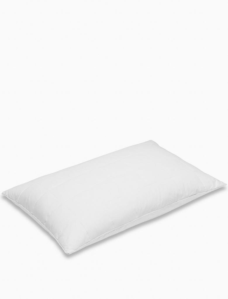 Ev Beyaz 2'li Mikrofiber Yastık Seti