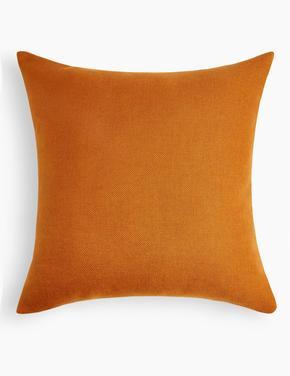Kahverengi Düz Renk Yastık