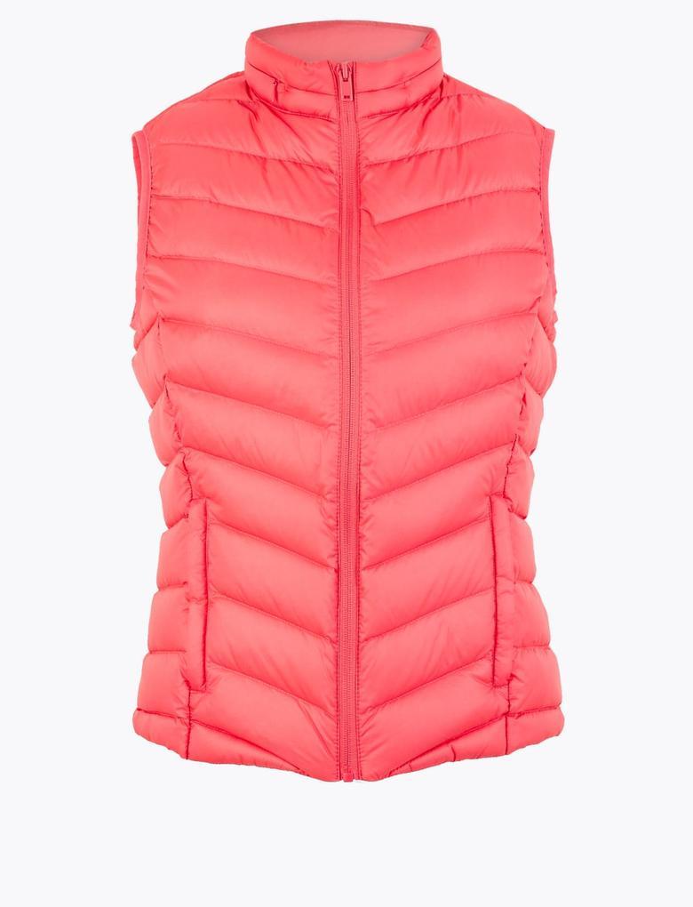 Kadın Pembe Stormwear™ Puffa Yelek