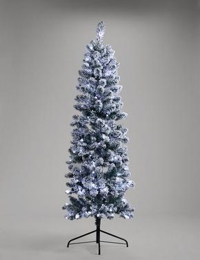 Beyaz Karlı Çam Ağacı 180cm